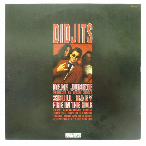 "DIDJITS - Dear Junkie (US Ltd.Orange Vinyl 7"")"