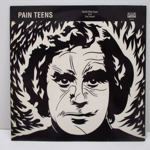 "PAIN TEENS - Death Row Eyes (US Ltd.White Vinyl 7"")"