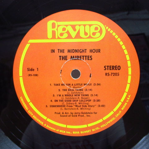 MIRETTES - In The Midnight Hour (US Orig.Stereo LP)