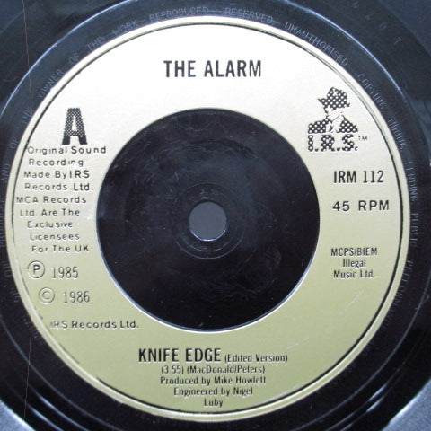 "ALARM, THE (ジ・アラーム)  - Knife Edge (UK Orig.7"")"
