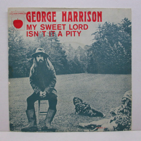 GEORGE HARRISON - My Sweet Lord (FRANCE Orig.+PS)