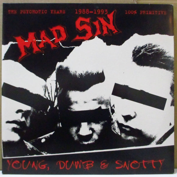 MAD SIN (マッド・シン)  - Young, Dumb & Snotty (German Orig.2xLP)