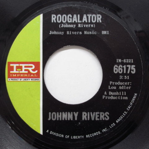 JOHNNY RIVERS - Muddy Water (US Orig)