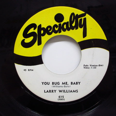 LARRY WILLIAMS - Bony Maronie (60's 2nd Press)