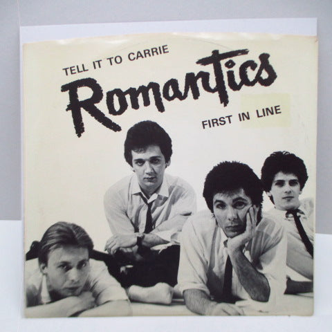 "ROMANTICS, THE - Tell It To Carrie (US Orig.7"")"