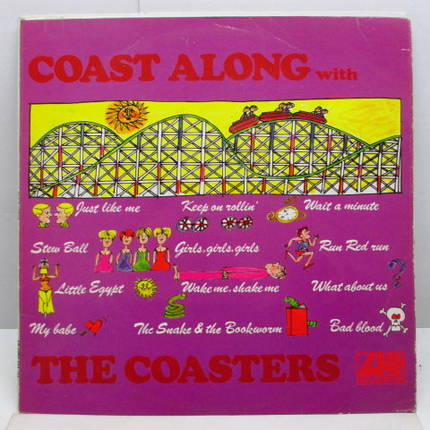 COASTERS - Coast Along (UK '66 Re Stereo LP/CS)