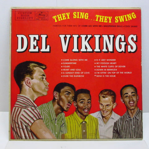DEL VIKINGS (DELL-VIKINGS) - They Sing...They Swing (Orig.Mono)