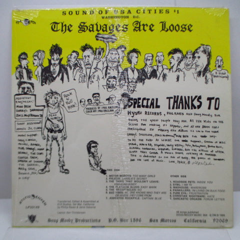 V.A. - The Savages Are Loose (US Orig.LP)
