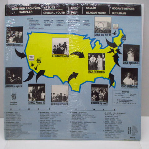 V.A. - Hardcore Breakout USA (US Ltd.Clear Vinyl LP+Free LP)