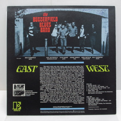 BUTTERFIELD BLUES BAND - East-West (UK:70's Reissue)