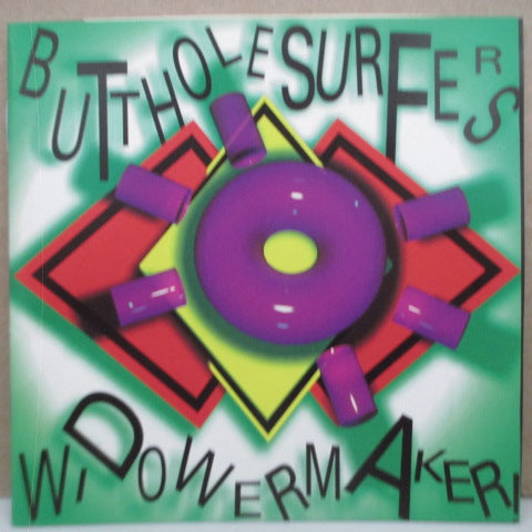 BUTTHOLE SURFERS - Widowermaker! (UK Orig.Mini CD)
