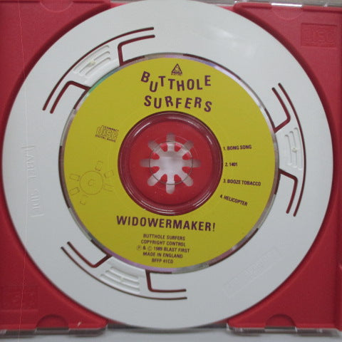 BUTTHOLE SURFERS - Widower (UK Orig.Mini CD)
