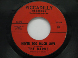 BARDS - Never Too Much Love / Light Of Love