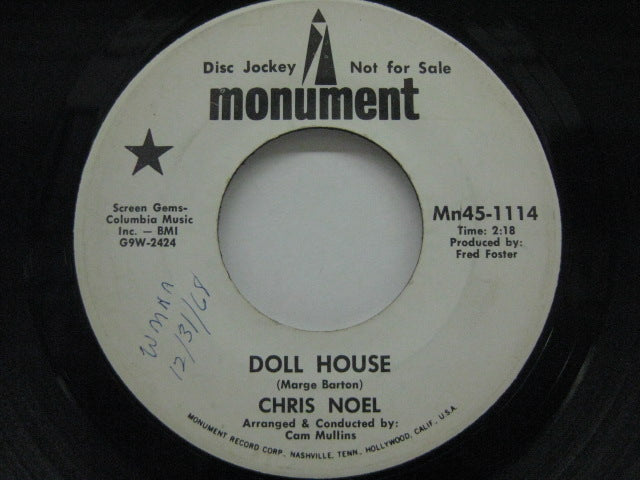 CHRIS NOEL - Doll House / Mr.And Mrs.Smith