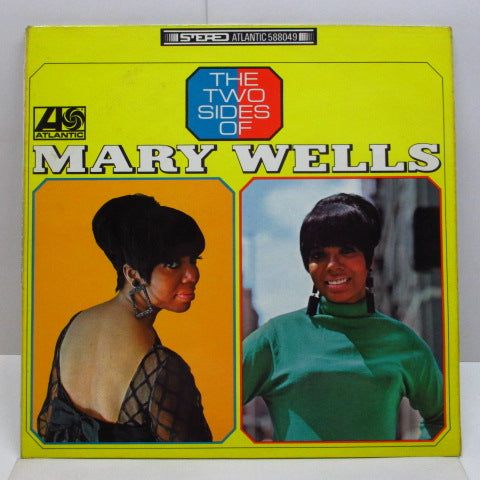MARY WELLS - The Two Sides Of (UK Orig.Stereo LP/CS)
