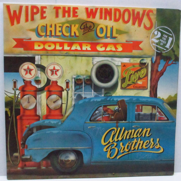 ALLMAN BROTHERS BAND - Wipe The Windows, Check The Oil, Dollar Gas (UK Orig.2xLP/Stickered CGS)
