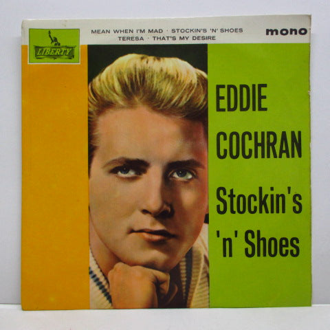 EDDIE COCHRAN - Stockin's 'n' Shoes +3 (UK Orig.EP/CFS)