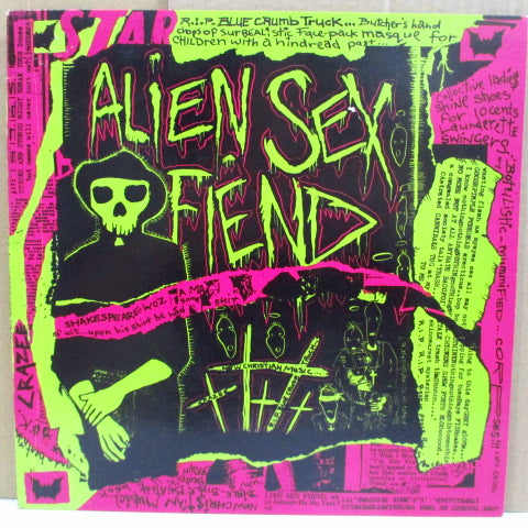 "ALIEN SEX FIEND - R.I.P. (EU Ltd.10"")"