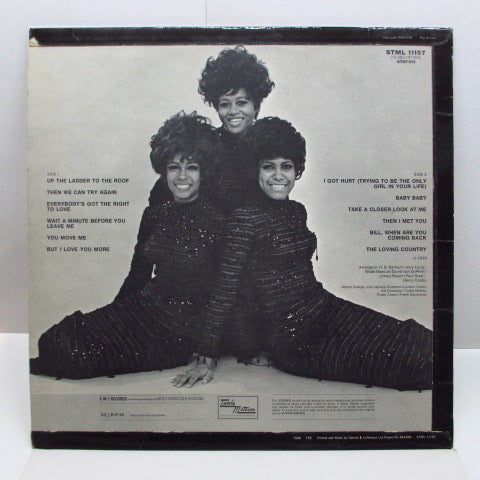 SUPREMES - Right On (UK Orig.STEREO)