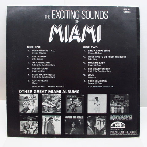 V.A. - The Exciting Sounds Of Miami (UK Orig.)