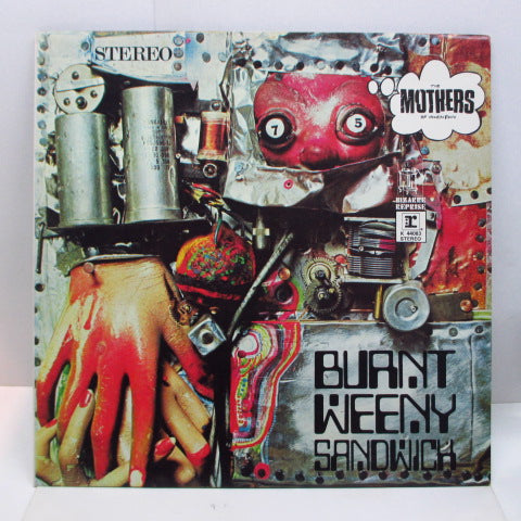 FRANK ZAPPA (MOTHERS OF INVENTION) - Burnt Weeny Sandwich (UK '71 Reissue)