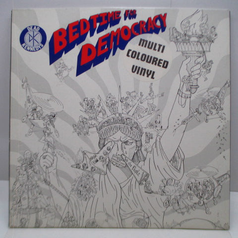 DEAD KENNEDYS - Bedtime For Democracy (OZ Ltd.Brown Marble Vinyl LP/GS)