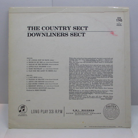 DOWNLINERS SECT - The Country Sect (UK Orig.Mono LP/CFS)
