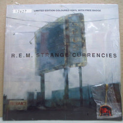 "R.E.M. - Strange Currencies (UK Ltd.Green Vinyl 7"" w/Badge)"