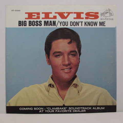 ELVIS PRESLEY - Big Boss Man (Orig+PS)