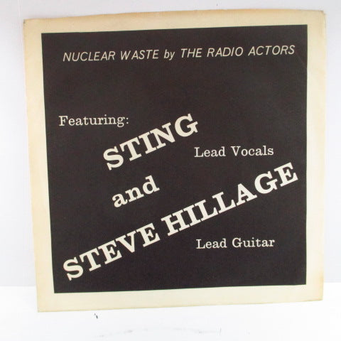 "RADIO ACTORS, THE - Nuclear Waste (Reissue 7"")"