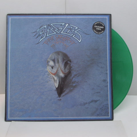 EAGLES - Their Greatest Hits 1971-75 (UK '76 Limited Press Green Vinyl)