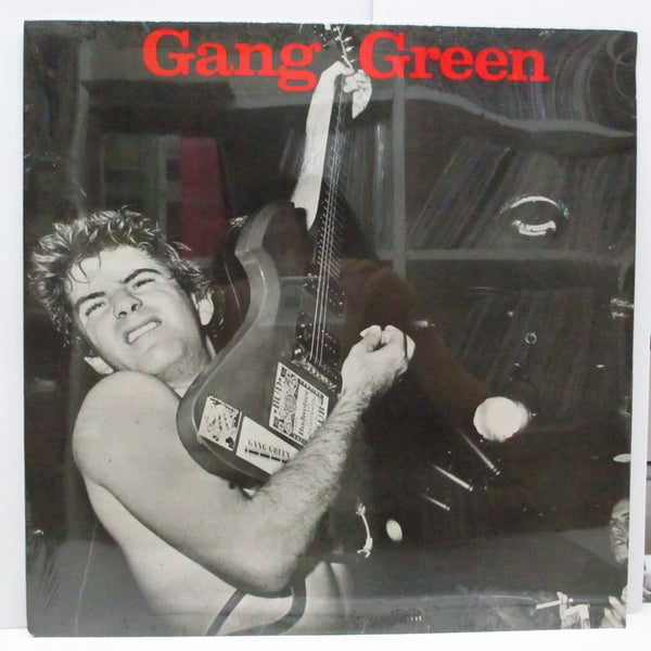 GANG GREEN - Another Wasted Night (US Reissue LP/Red Logo CVR)