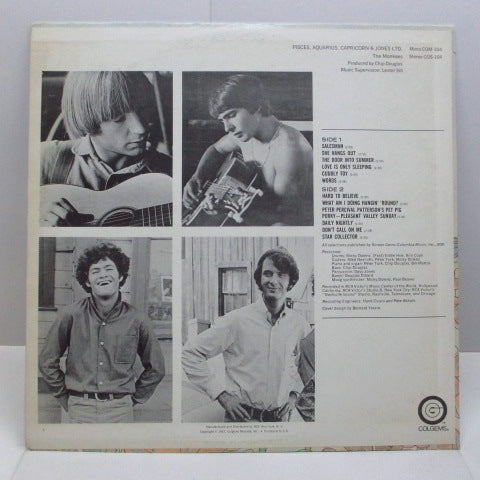 MONKEES - Pisces, Aquarius, Capricorn & Jones Ltd. (US Orig.Stereo LP)
