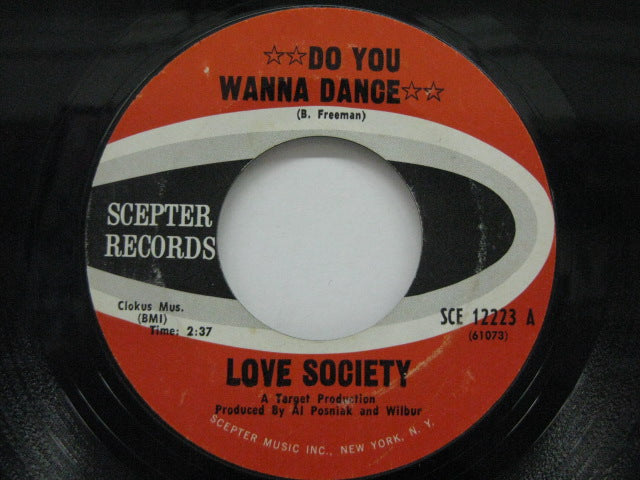 LOVE SOCIETY - Do You Wanna Dance / Without You