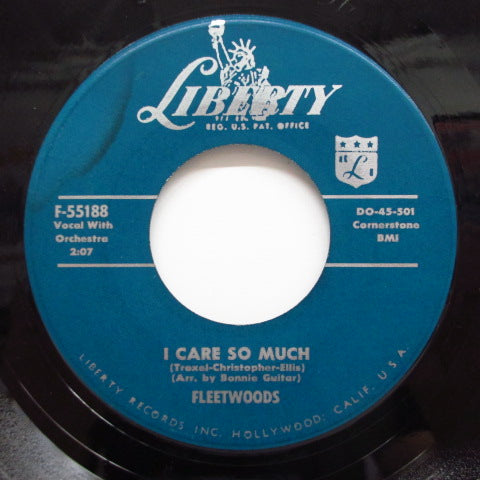 FLEETWOODS - Come Softly To Me ('59 Liberty Reissue)