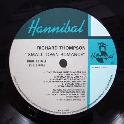 RICHARD THOMPSON - Small Town Romance (Live / Solo In New York) (UK Orig.)