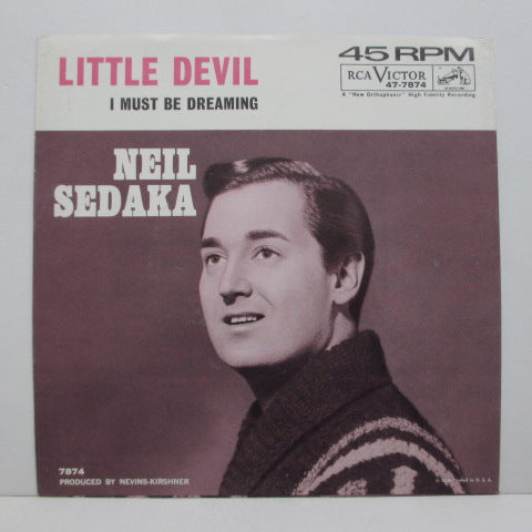 "NEIL SEDAKA - Little Devil (US Orig.7""+PS)"