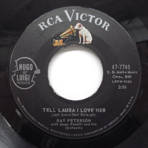 RAY PETERSON - Tell Laura I Love Her (US Orig)