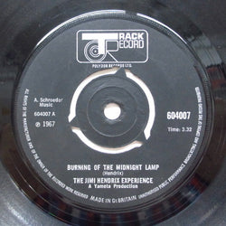JIMI HENDRIX - Burning Of The Midnight Lamp (UK Orig.Round Center)