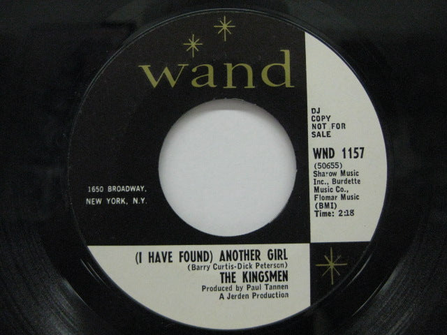 KINGSMEN - (I Have Found) Another Girl / Don't Say No
