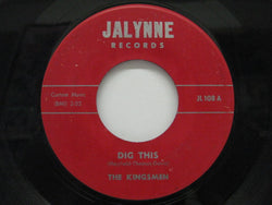 KINGSMEN - Dig This / Lady's Choice