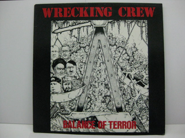 WRECKING CREW - Balance Of Terror (US Orig.LP)