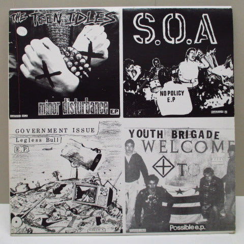 "V.A. - Four Old 7""s On A 12"" (2nd Press)"