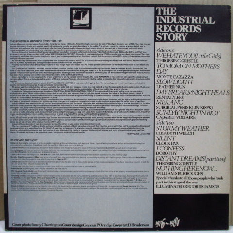 V.A.- The Industrial Records Story 1976-1981 (UK Orig.LP)