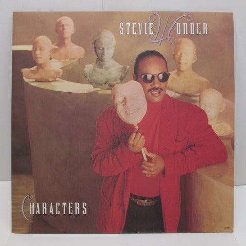 STEVIE WONDER - Characters (US:Orig.LP)