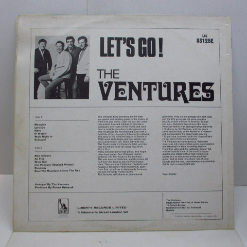 VENTURES - Let's Go!(UK '68 Reissue Mono LP/CS)