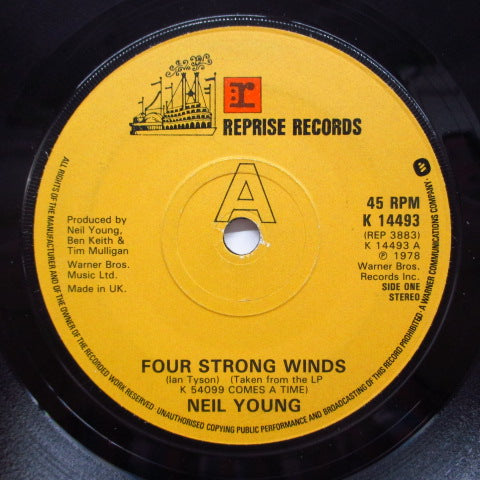 NEIL YOUNG - Four Strong Winds (UK Orig.)