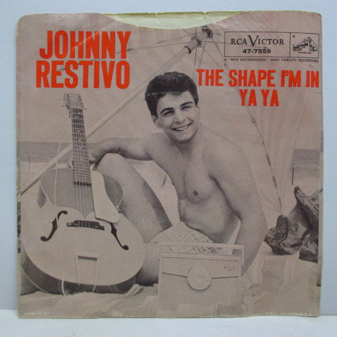 "JOHNNY RESTIVO - The Shape I'm In (US Orig 7""+PS)"
