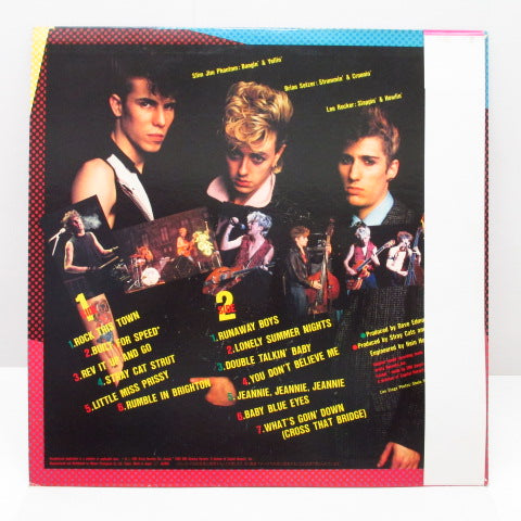 STRAY CATS - Built For Speed (Japan Orig.LP)