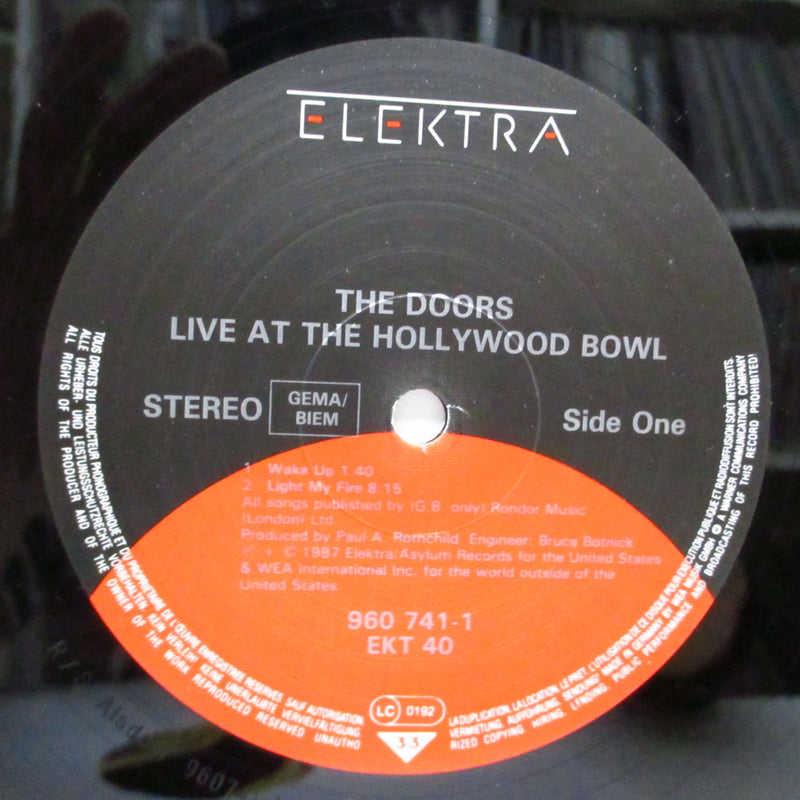 DOORS - Live At The Hollywood Bowl (German Orig.LP)